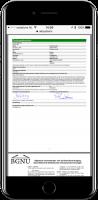 Ondertekend aannameformulier